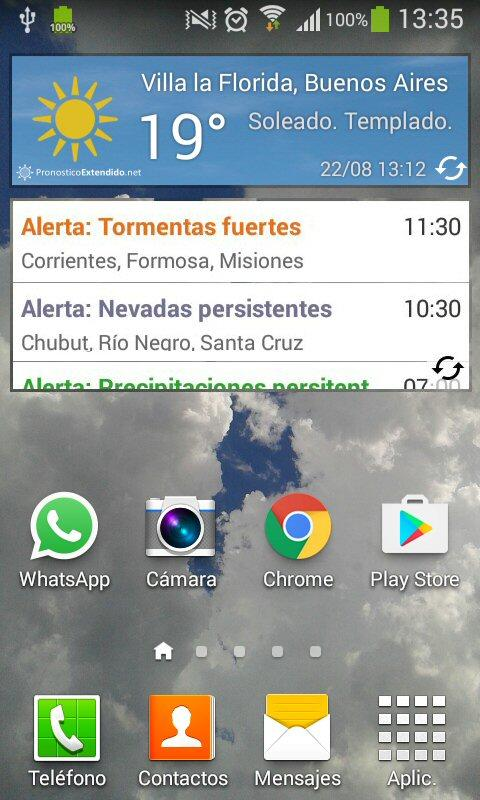 PronosticoExtendido.net- screenshot