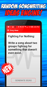Write Songs Songwriting Lyrics screenshot 3