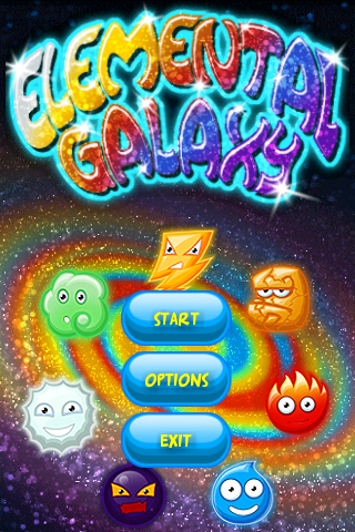 Elemental Galaxy- screenshot