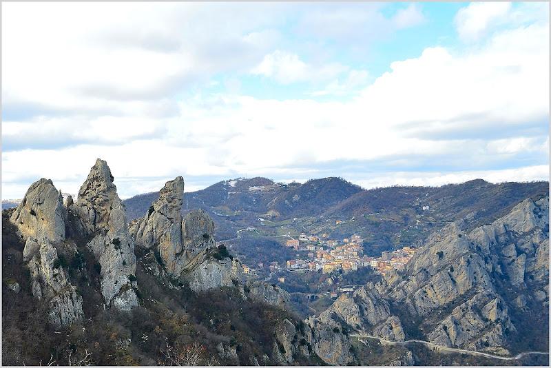 """Un trio di roccia dolomitica """"Lucana"""" di Antonello82"""