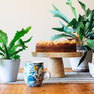 Nectarine Coffee Cake.