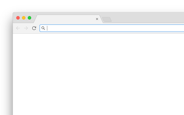 Blank New Tab Page