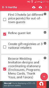 Wedding Checklist - náhled