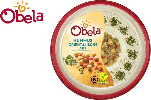 Bild für Cashback-Angebot: Obela Hummus Orientalische Art - Obela