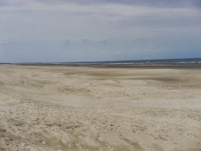 Photo: der Strand ist fast menschenleer