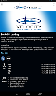 Velocity Truck Rental & Lease- screenshot thumbnail
