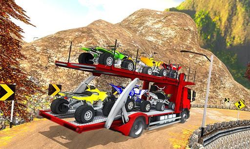 Vehicle Transporter Trailer Truck Game 1.4 screenshots 5