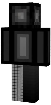 The one dark cube in the mc worlds