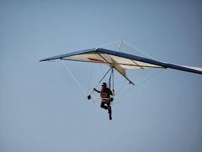 Photo: Deltaplane à l'atterrissage