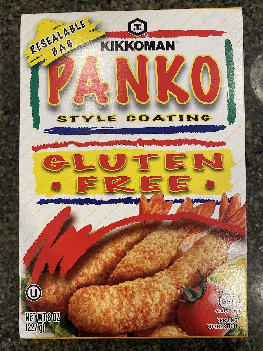 Gluten Free Panko style coating