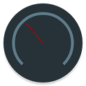 Status Bar Speedometer icon