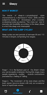 Sleepy - Sleep Cycles Screenshot