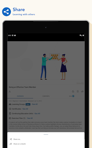 LinkedIn Learning screenshot 14
