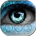 Angel Eyes Lock Screen