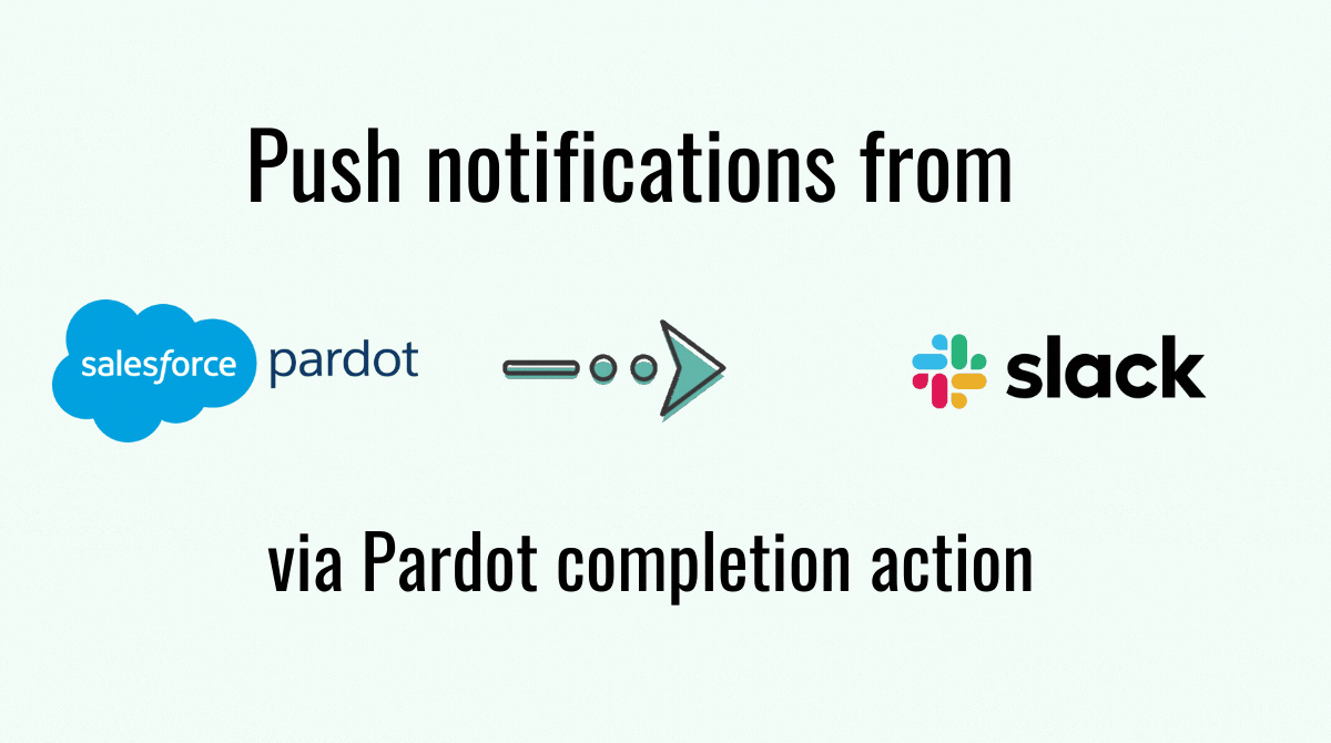 Push notifications from Pardot to Slack via Pardot completion action
