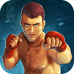 Muay Thai Fighting Icon