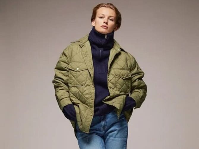 Fashionable quilted jackets 3