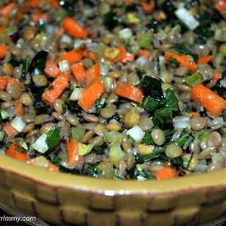 Fresh Tarragon and Lentil Salad