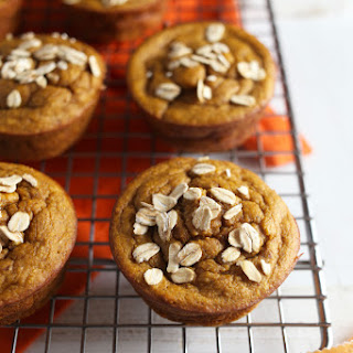 Flourless Maple Almond Sweet Potato Muffins