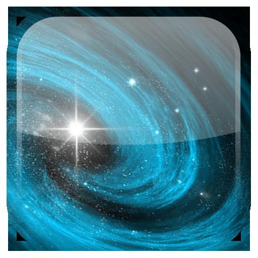 Galaxis Live-Hintergrund