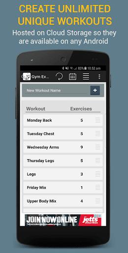 Gym Exercises 2.1 screenshots 4
