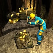 Cave Mine Construction Sim: Gold Collection Game