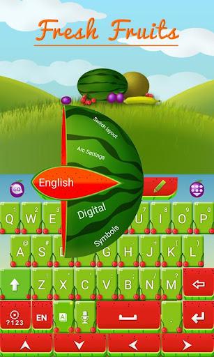 玩免費個人化APP|下載新鮮水果鍵盤 app不用錢|硬是要APP