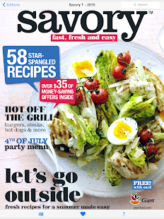 Savory Magazine by Giant Food- screenshot thumbnail