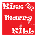 Kiss, Marry or Kill game FREE icon
