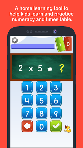 Learn Math as in Primary School : Times Table 1.1.18 screenshots 1