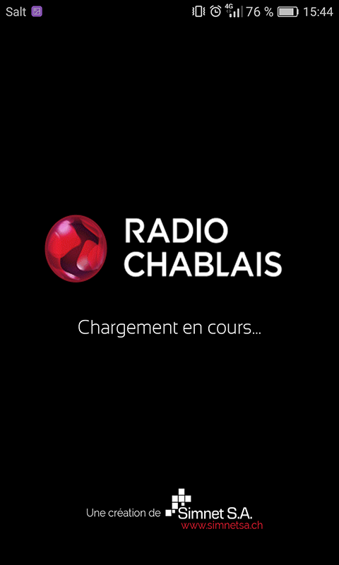 Radio Chablais- screenshot