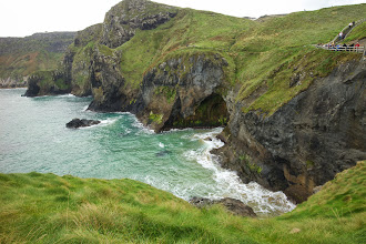 Photo: Gorgeous ocean at Carrick-a-Rede