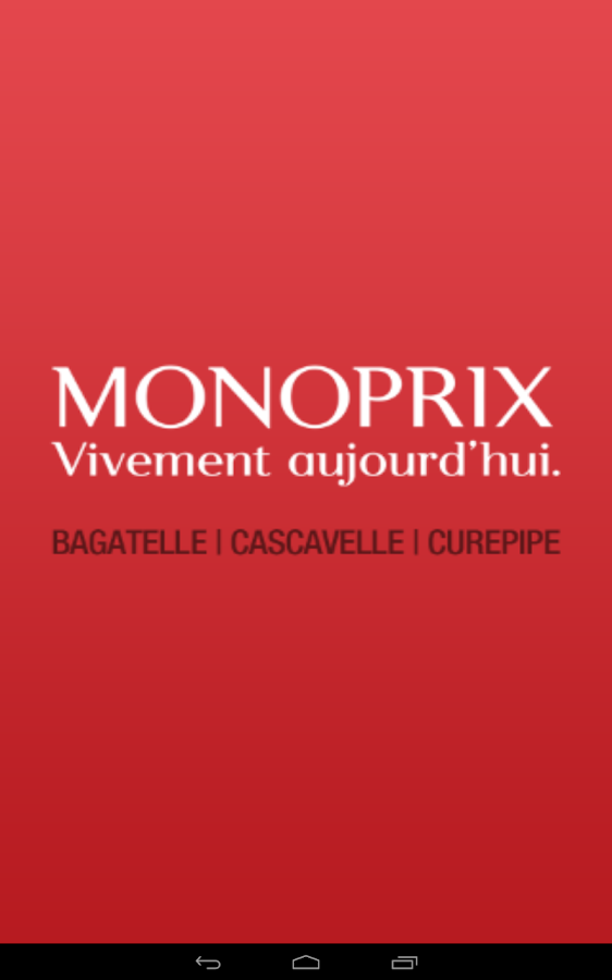 myMonoprix- screenshot