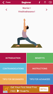 Yoga Poses :Yoga asanas videos Apk  Download For Android 2