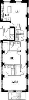 Go to Lincoln American Tower - B3 Floorplan page.