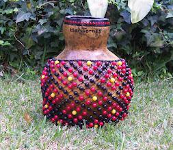 Photo: Shekeré de calabaza tamaño grande
