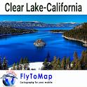 Clear Lake Map Gps navigator icon