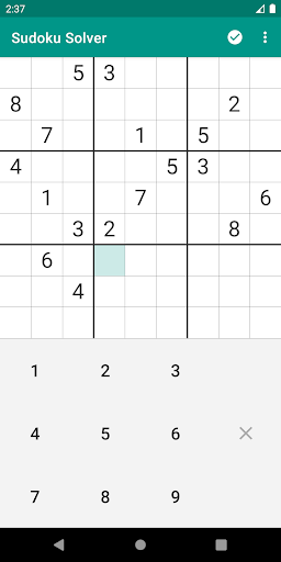 Sudoku Solver android2mod screenshots 1