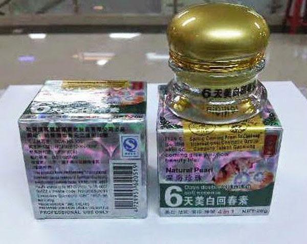 Cream Penghilang Flek Hitam Di Wajah Beauty Girl 6 Days Whitening | Cream Flek Membandel Hitam | Injeksi Orine