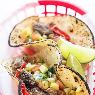 Spicy Hawaiian Carnitas Tacos