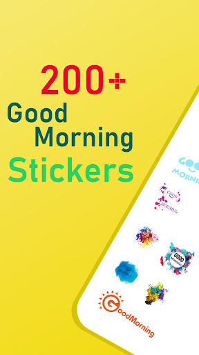 Good Morning stickers for whatsapp - WAStickerapps 1.0.2 screenshots 1