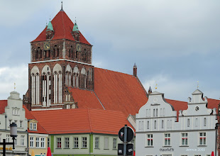 Photo: St. Marien Kirche zu Greifswald