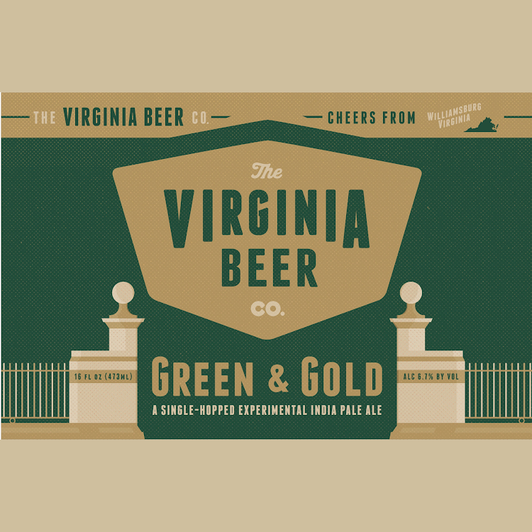 Logo of Virginia Beer Co. Green & Gold Experimental IPA