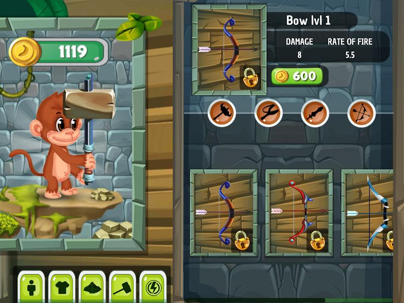 Скриншот Monkey's Adventure Island