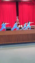 Photo: School Visit - 至善國中: Wushu Performance