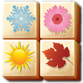 Mahjong Garden Four Seasons - Free Tile Game