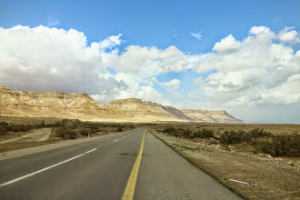 Photo: On our way to Dead Sea