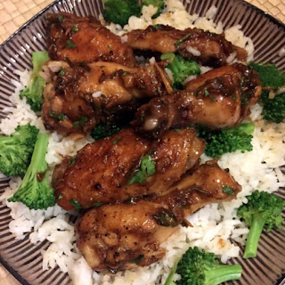 Asian Honey Garlic Chicken Wings Recipes