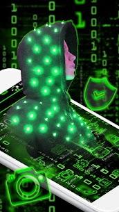 Neon Secret Hacker Launcher Theme Apk Download For Android 2