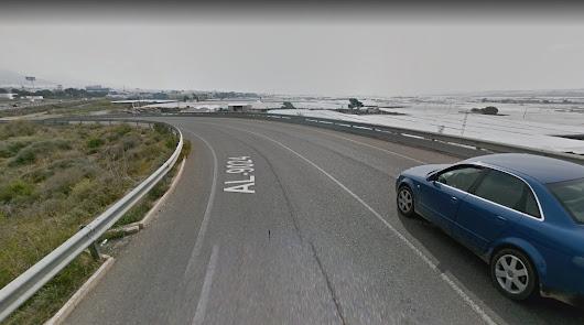 Imagen de la carretera AL-9024.